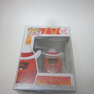 McDonald's Cowboy McNugget Funko w/ protector
